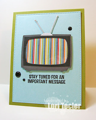 Stay Tuned card-designed by Lori Tecler/Inking Aloud-stamps and dies from My Favorite Things