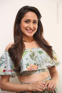 Actress Pragya Jaiswal Stills in Floral Dress at turodu Interview  0011.JPG