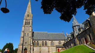 A katedrális az Isle of Cumbrae-n Millport-ban