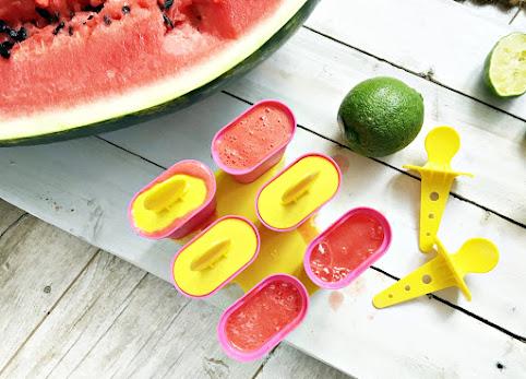 Przepis na pyszne lody z arbuza. Szybkie i proste domowe lody - polecam.