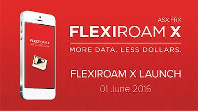 Flexiroam X Free 1GB Data Roaming
