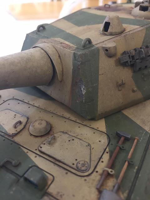 Trumpeter 1/35 E.100 tank