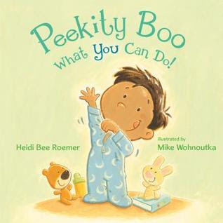 Book cover for Peekity Boo by Heidi Bee Roemer