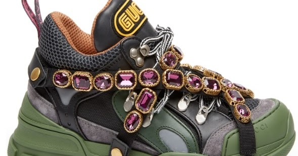 046537e8015 This Gucci Sneaker is a Jewel