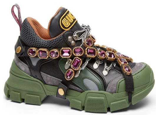 This Gucci Sneaker is a Jewel