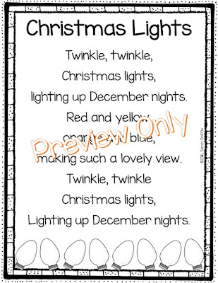 https://www.teacherspayteachers.com/Product/Christmas-Lights-Poem-for-Kids-2880637