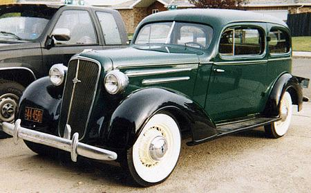 Time: '35 Chevy