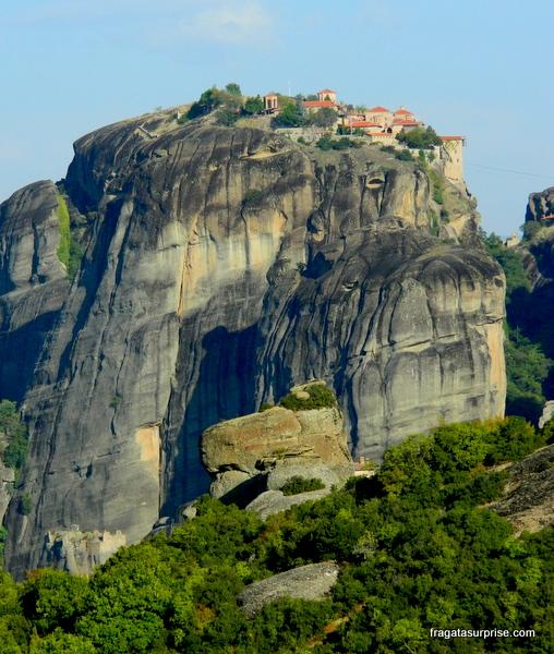 Mosteiro em Meteora, Grécia