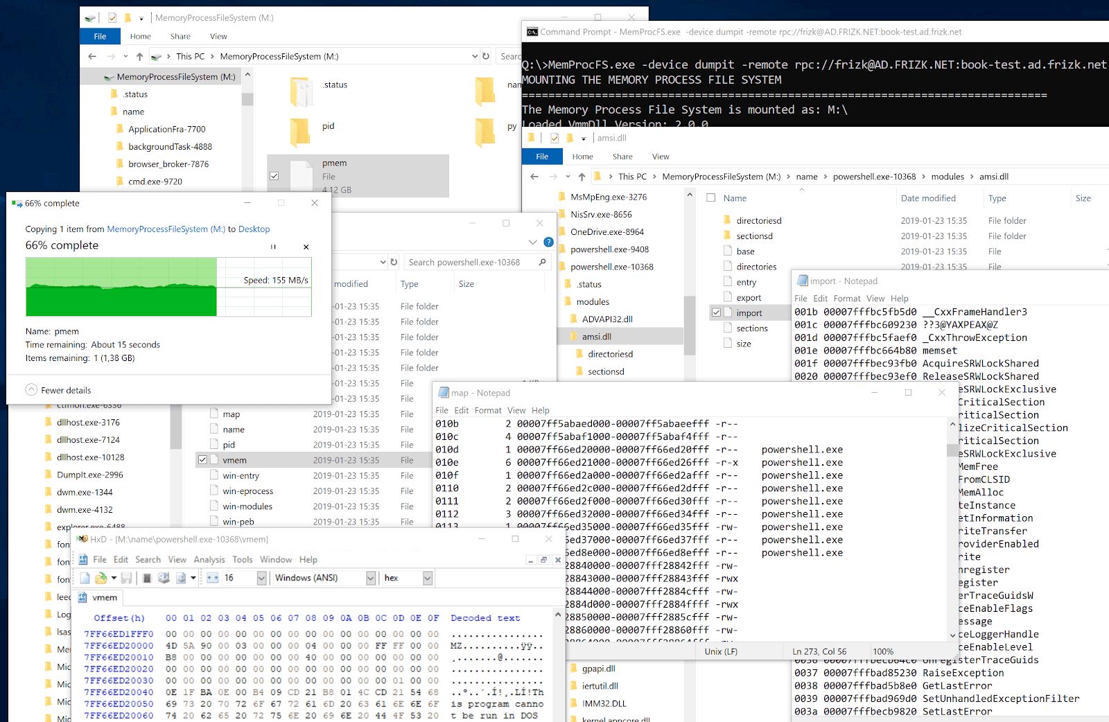 Security | DMA | Hacking