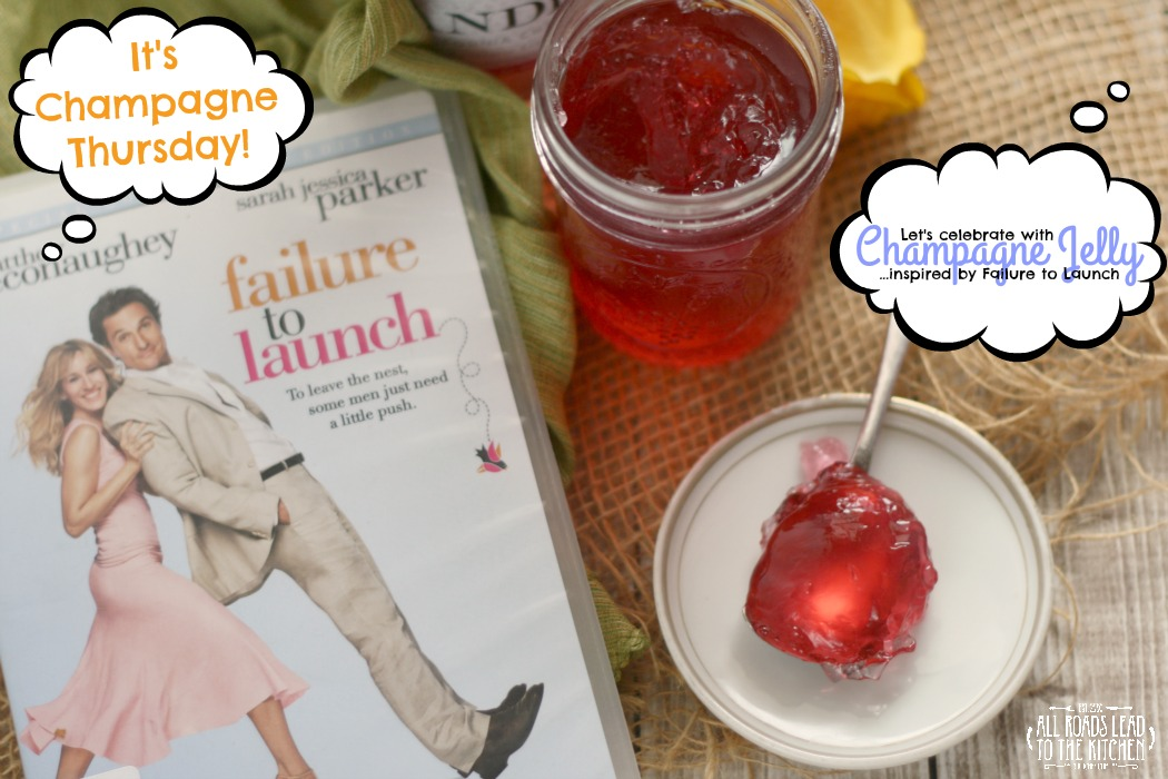 Celebrate Champagne Thursday with Champagne Jelly