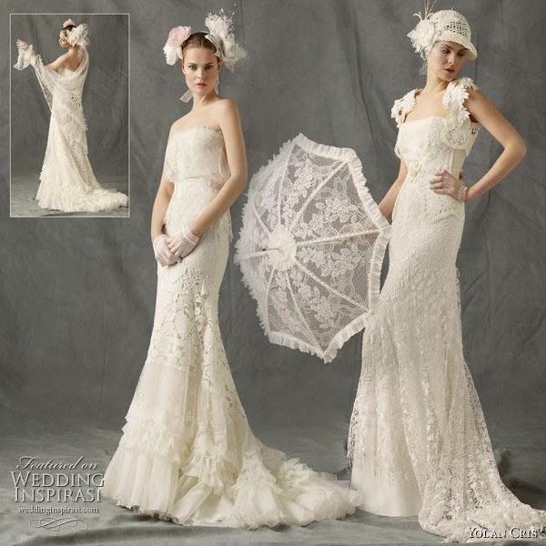 Favorito Cool italia dress: Abiti da sposa anni 30 40 KG26