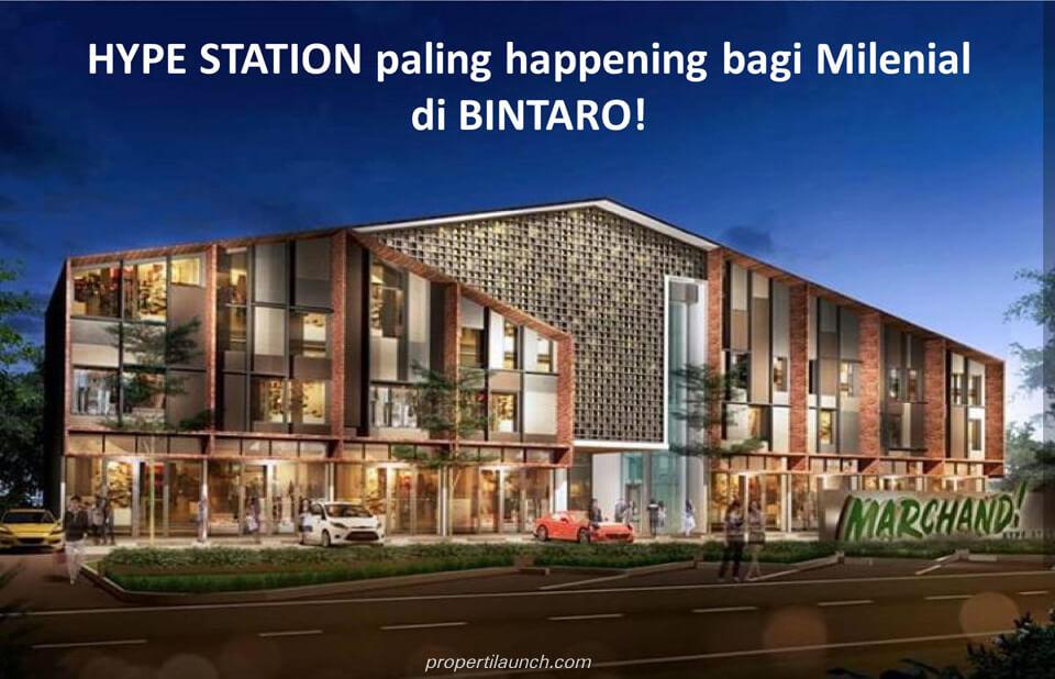 Marchand Hype Station Bintaro