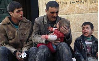 Rezim Syiah Suriah Mulai Serangan Baru di Ghouta Timur