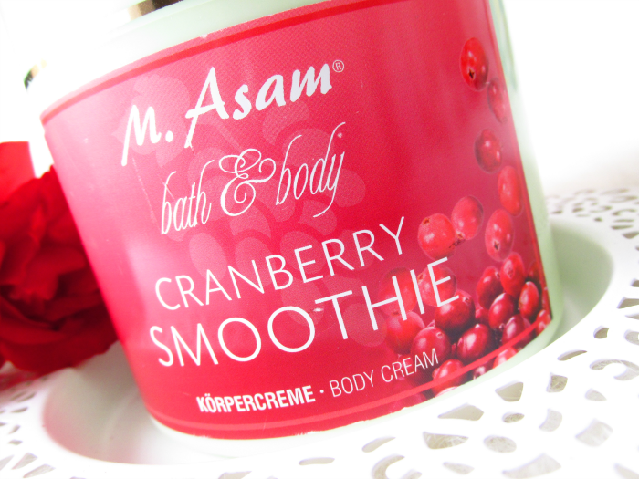 M.Asam Cranberry Smoothie Körpercreme / Body Cream Review