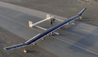 Pesawat Mata-mata Bertenaga Surya