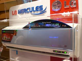 Harga AC LG 1/2, 1, 2 PK Tipe Hercules Low Watt