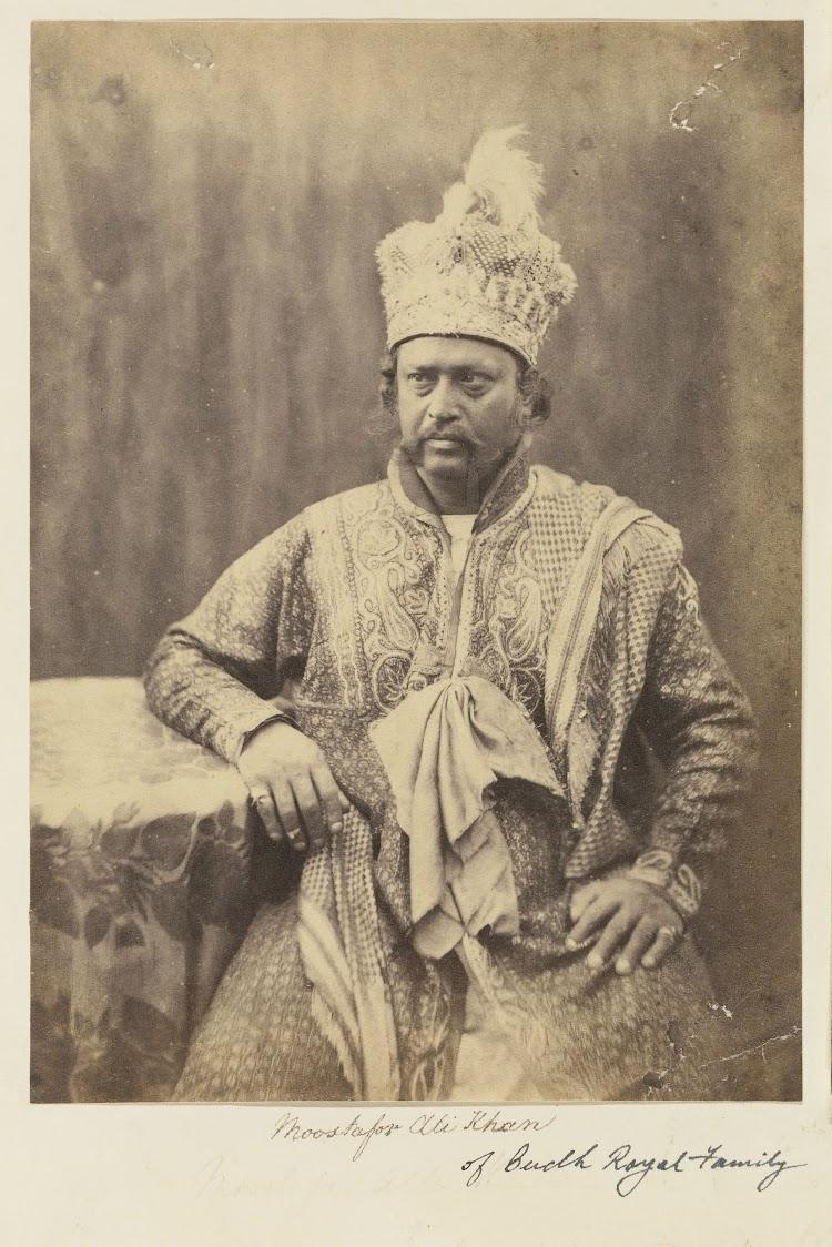 Moostafor Ali Khan of the Oudh (Awadh) Royal Family - c1850's