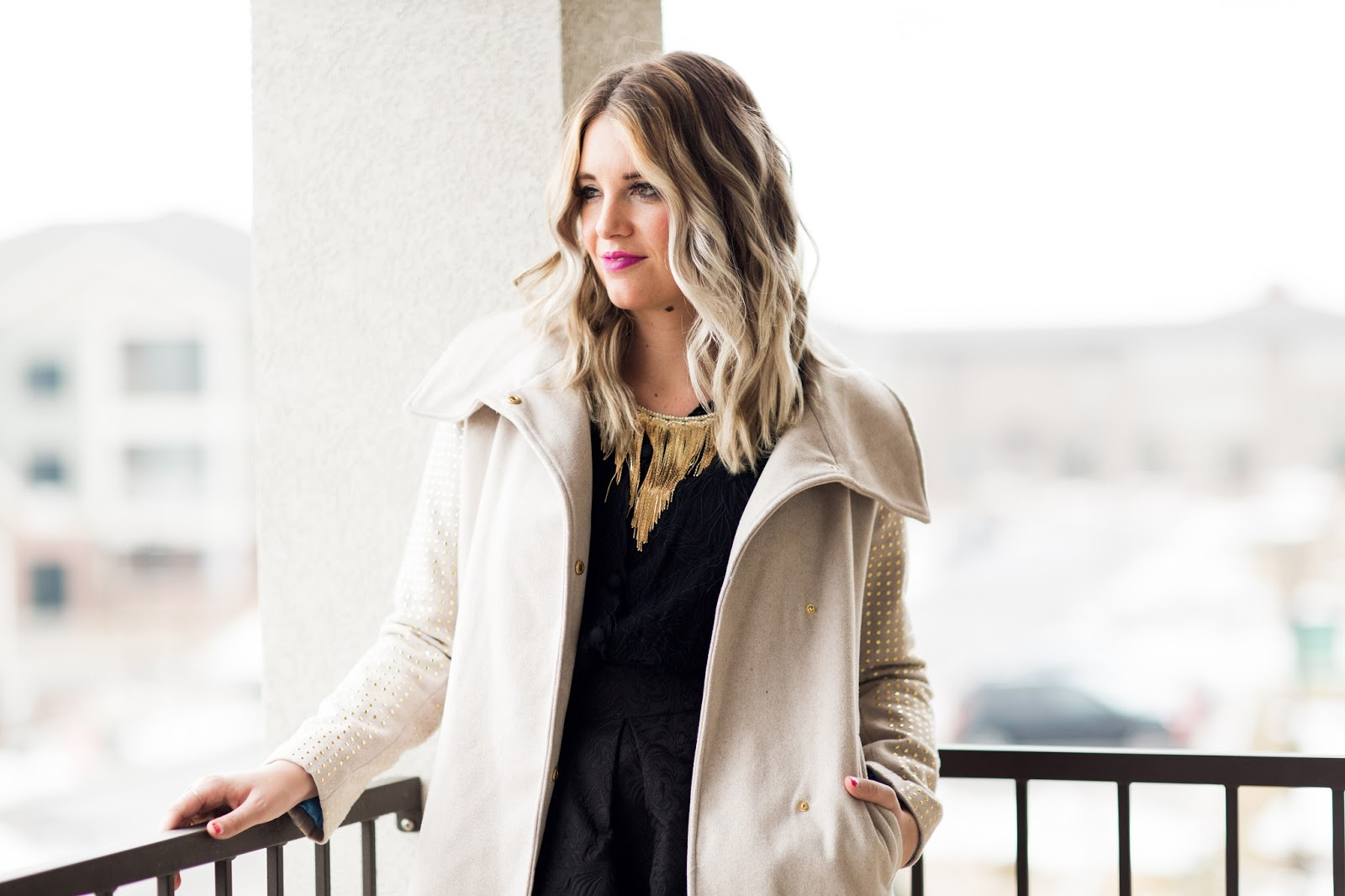 Utah Fashion Blogger, Fringe Necklace