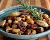 Party Nuts with Fresh Rosemary