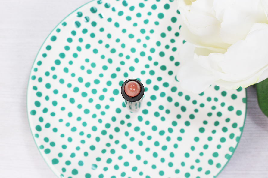 Haven is a delicate, natural nude lipstick.