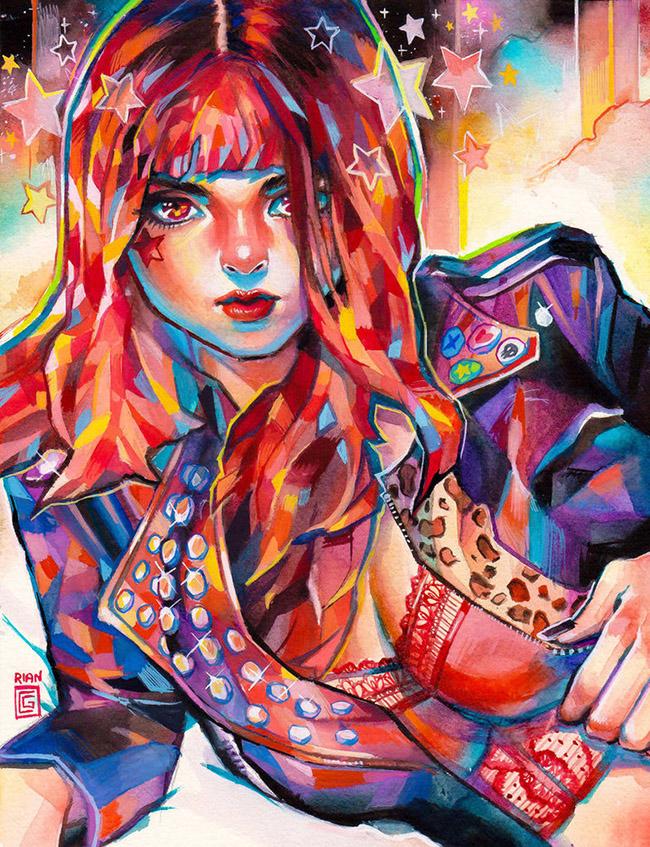 ARTIST: Rian Gonzales @Rianbowart (rianbowart.carbonmade.com) via: YellowMenace.net