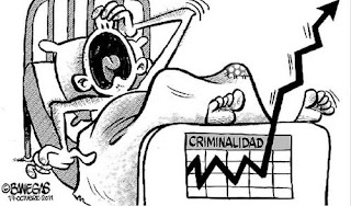 Honduras crime cartoon