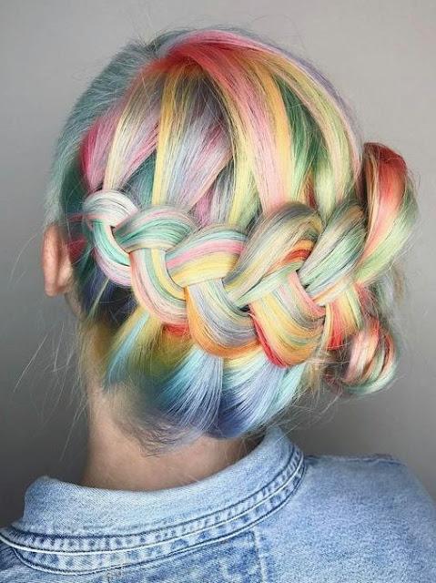 pelo color fantasia