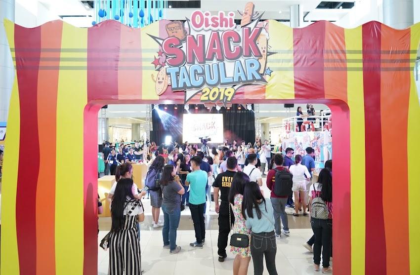 O, Wow! Weekend for Oishi Snacktacular 2019