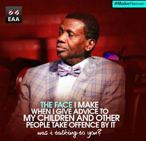 LOL! Is This Funny Tweet Really From Baba Adeboye?