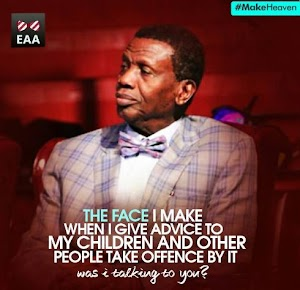 SMILES! I Really  Love This Tweet  From Baba Adeboye?