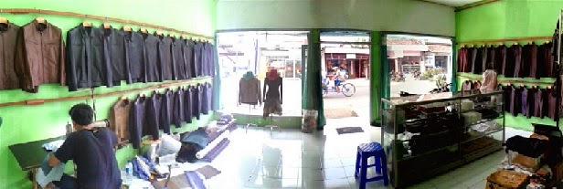 Showroom Grosir Jaket Kulit Asli Murah