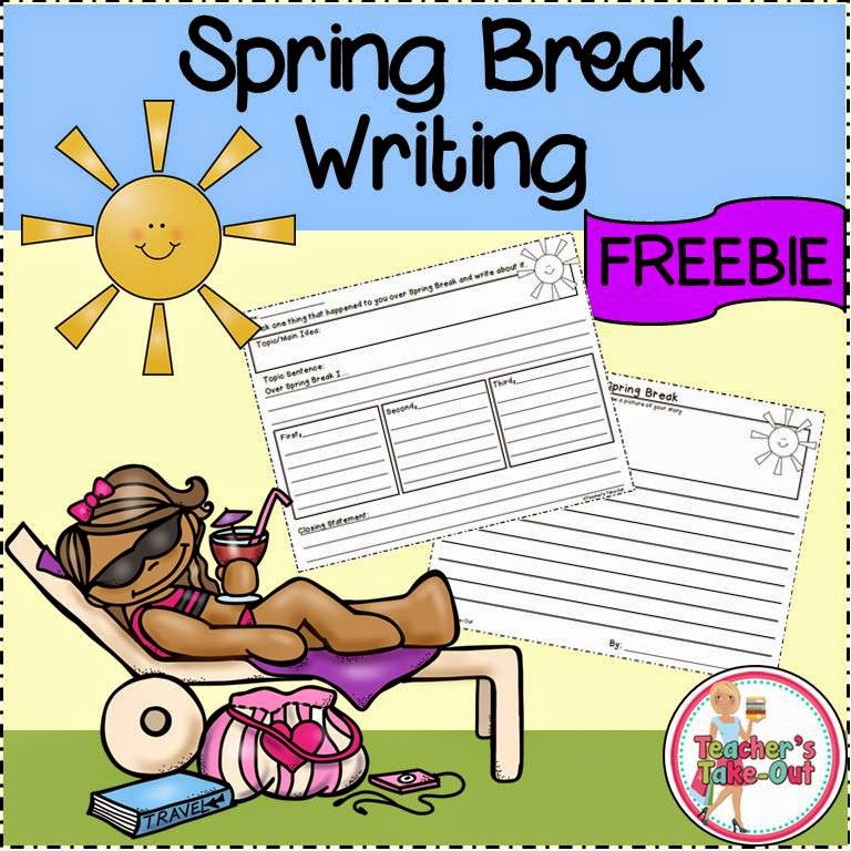 Free Spring Break Writing