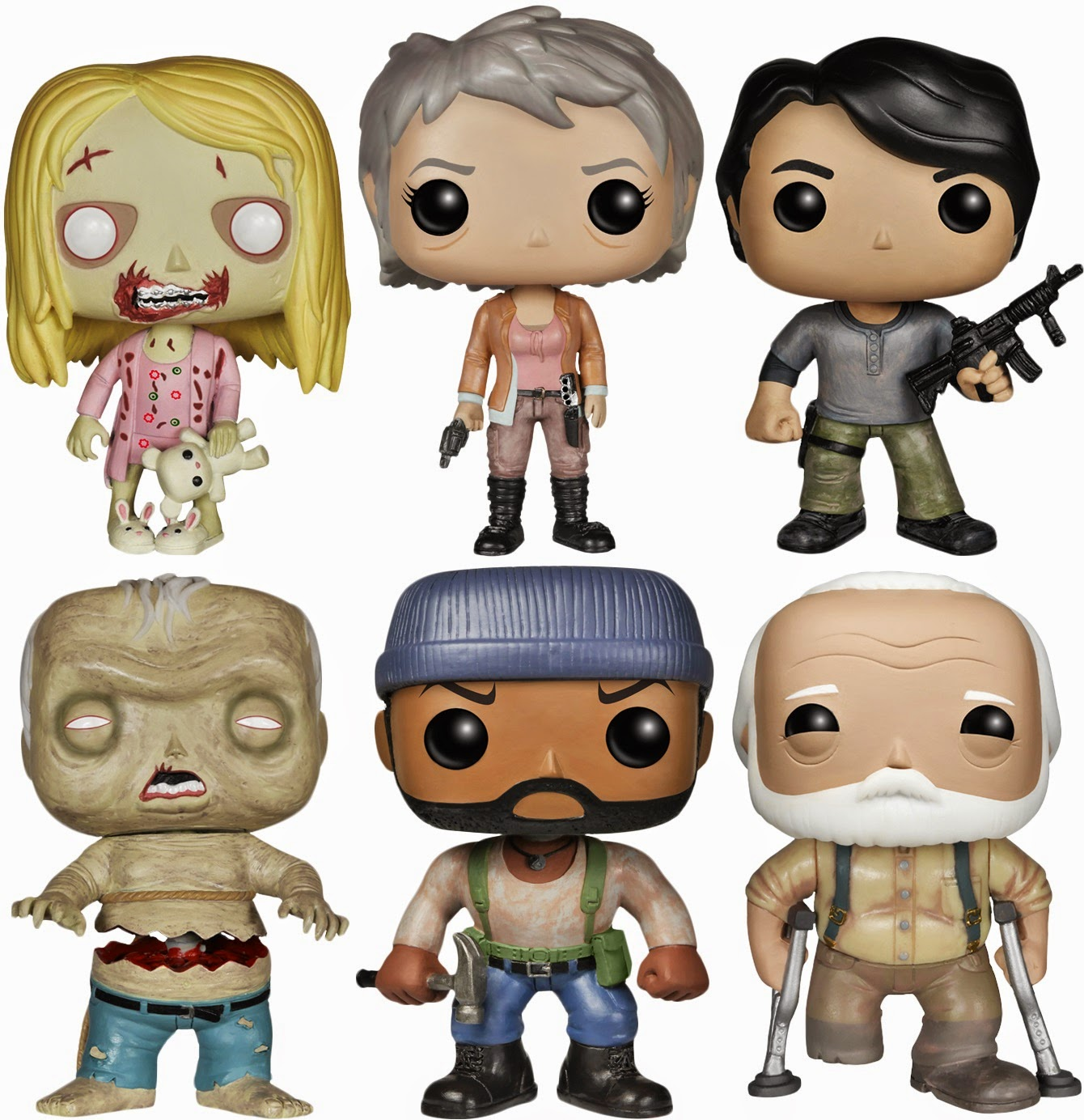 The Walking Dead Funko POP Vinyl Series 5