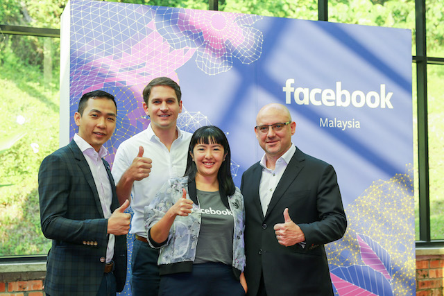 Jon Kee, Head of Agency, Malaysia, Facebook; Kenneth Bishop, Managing Director of Southeast Asia, Facebook; Nicole Tan, Head of Malaysia, Facebook; Dan Neary, Vice President, Asia Pacific, Facebook.