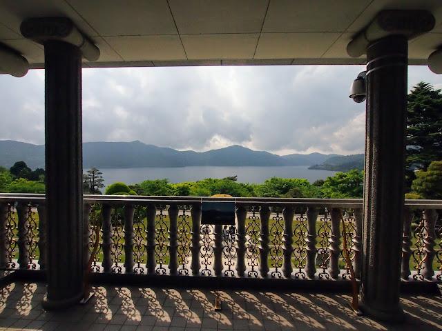 恩賜箱根公園 湖畔展望館