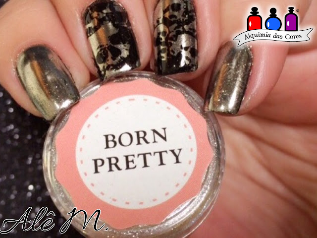 odisseia esmaltada, born pretty, 99 elite, peel off, star wars, Alê M.