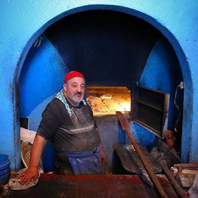 Horno de pan en Chauen