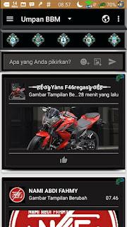 BBM MOD Darkness Dragon v3.2.0.6 APK (BBM Full Transparan Gratis)