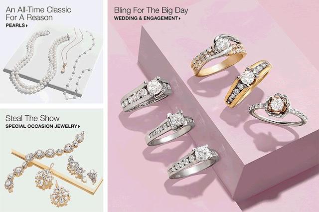 Macy's Store Diamond Jewelry Department