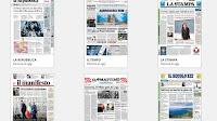 Migliori siti di notizie, prime pagine, titoli e giornali