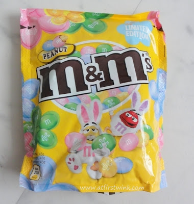 m&m's peanut - easter edition
