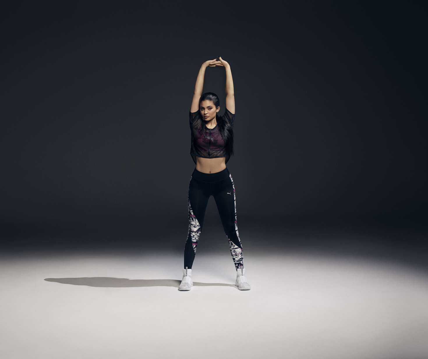 Kylie Jenner flaunts incredible physique for Puma's Spring/Summer 2017 Campaign