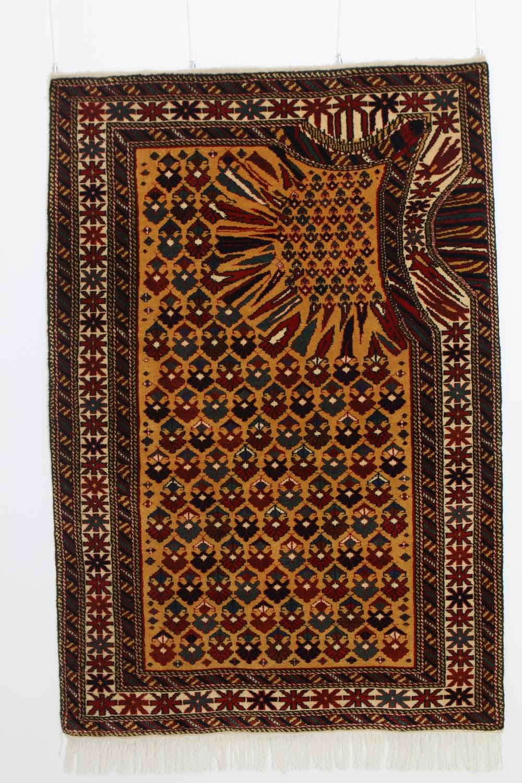 Carpets Glitch, tapetes tecidos à mão por Faig Ahmed