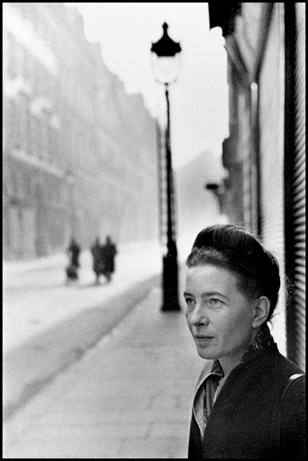 david hume vs simon de beauvoir Instead of starting with the idea of purpose and then humans existing because of that purpose, existentialists start with the existence of humans and emphasize that human's must create their own meaning and purposesartre's lover, simone de beauvoir was also a famous philosopher and an important feminist.