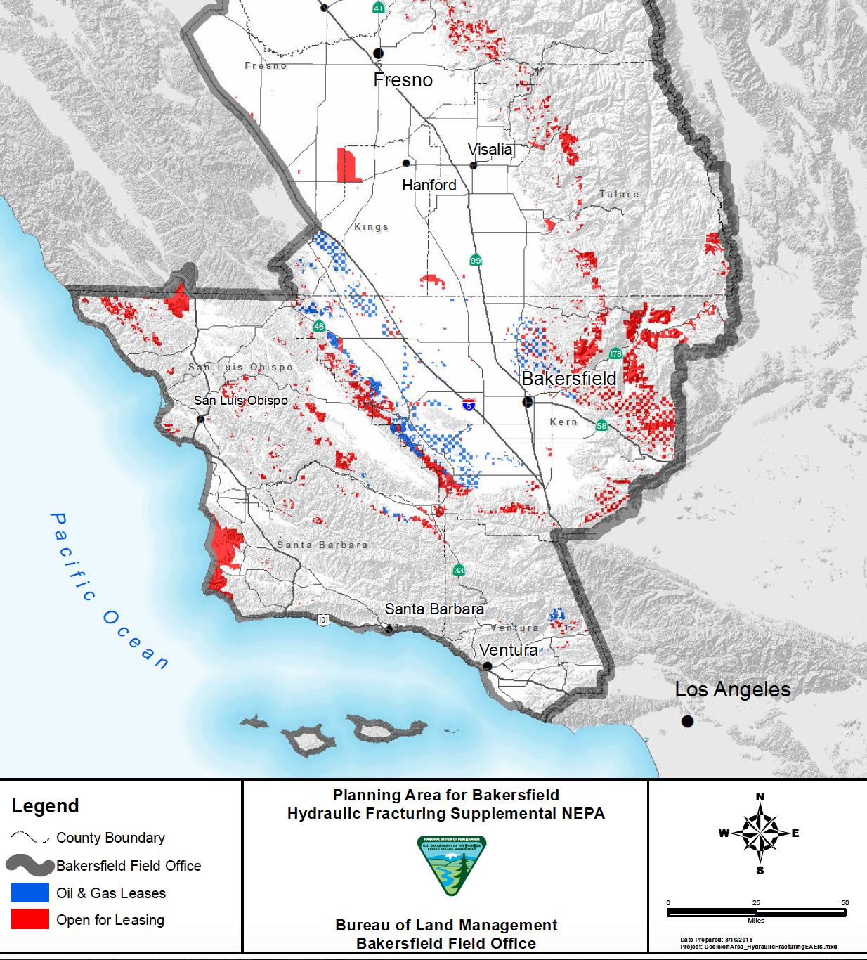 Mojave Desert In California Map.Trump Proposes Fracking In Western Mojave