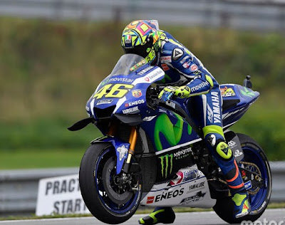 Tekad Amankan Runner Up, Kini Rossi Angkat Tangan Kejar Marquez