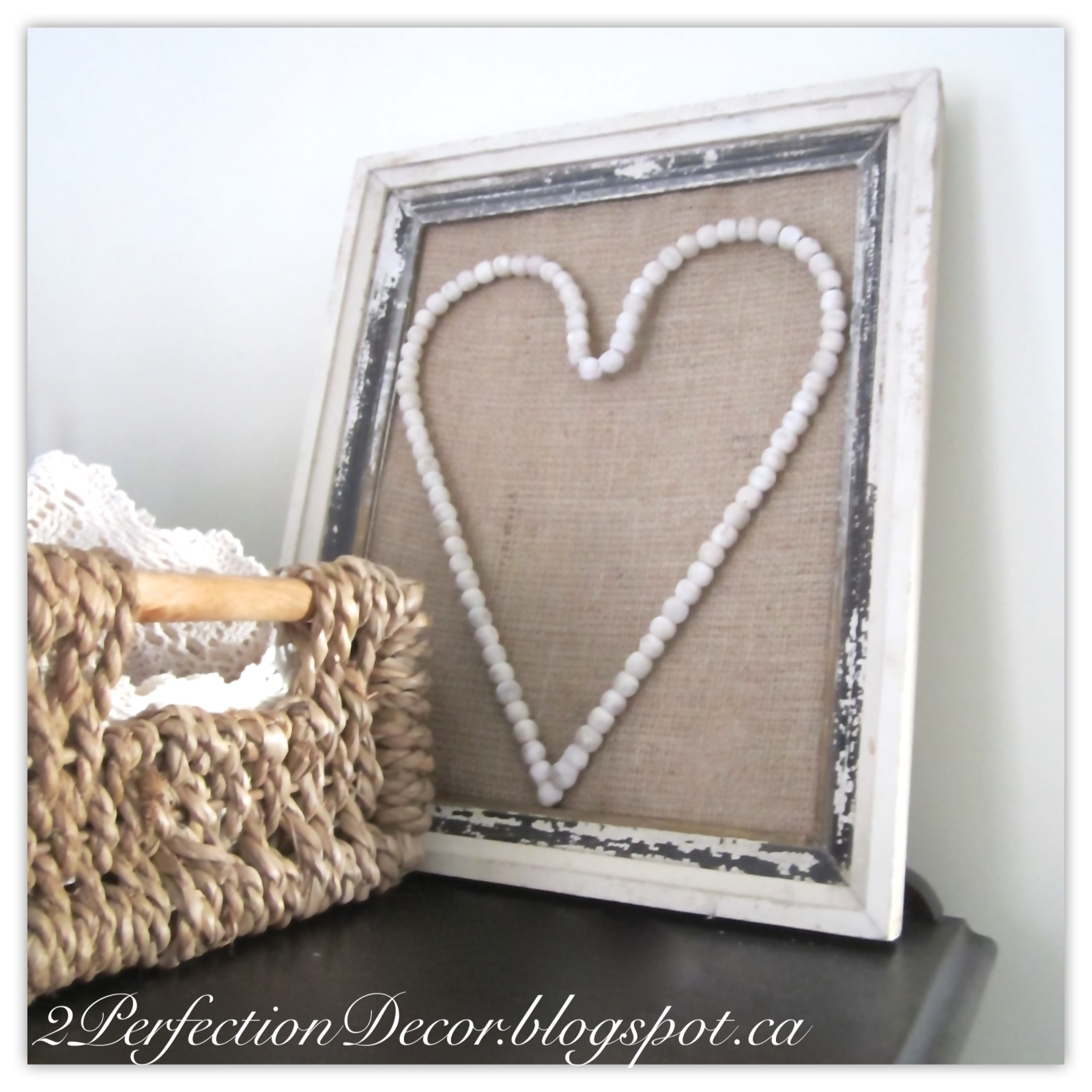 Spectacular And lastly I used this antique frame to make the wall piece ugrand er u Adding a simple frame around metal ornate grate helped fill the empty space on our