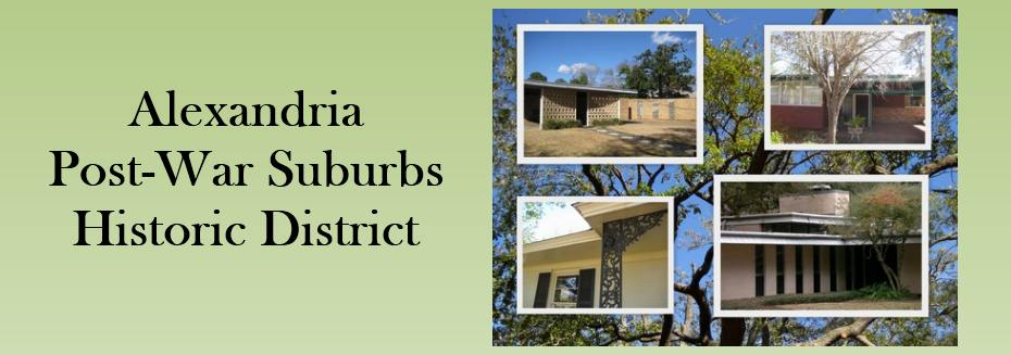 Alexandria Post-War Suburbs Historic District