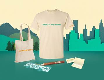 WIN! Captain Fantastic Merchandise