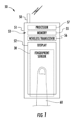 apple fingerprint scanner patent